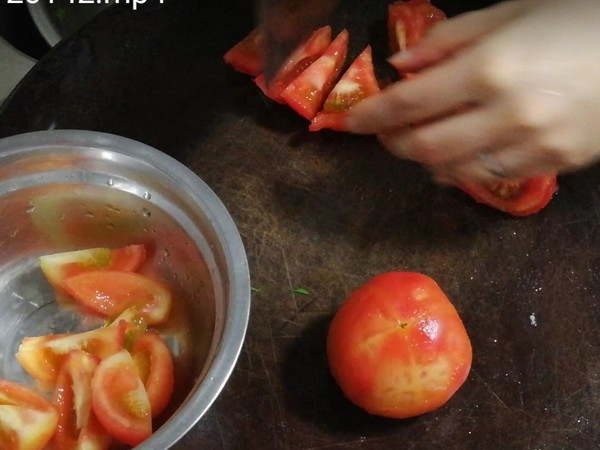 西红柿炒牛肉的做法图解