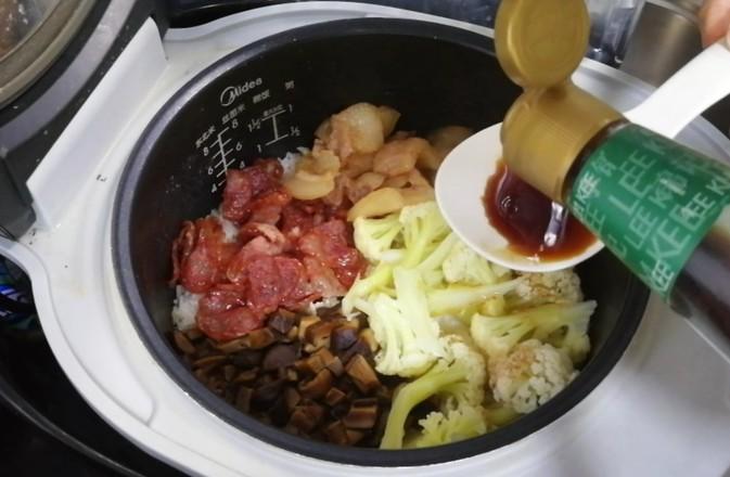 粤式腊味叉烧煲仔饭(电饭锅版)怎么煮