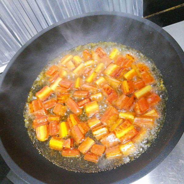 水果胡萝卜土豆炒肉的做法图解