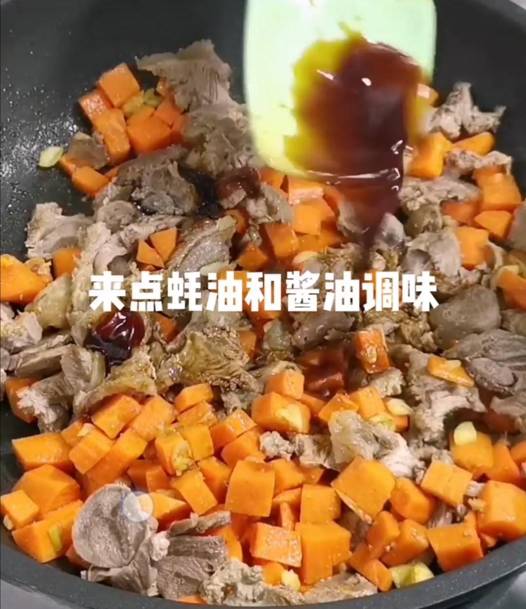 羊肉手抓饭怎么炒