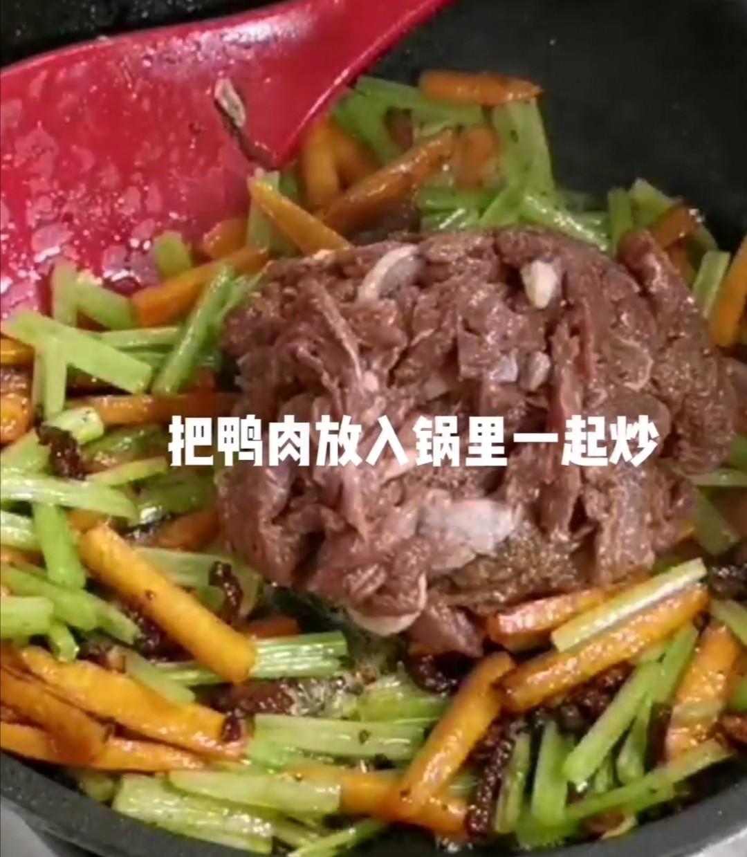 沙茶鸭肉怎么做