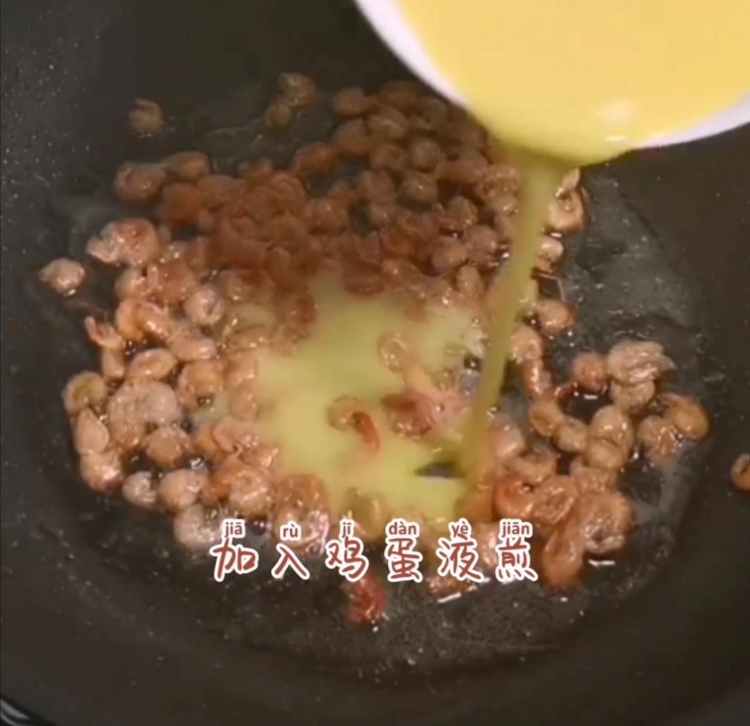 河虾煎鸡蛋怎么吃