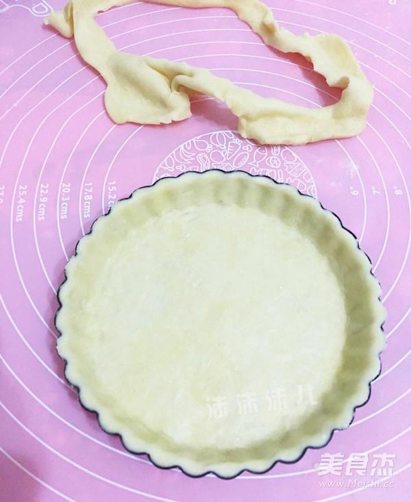 编织苹果派的制作