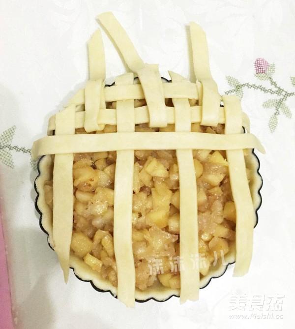 编织苹果派的做法大全