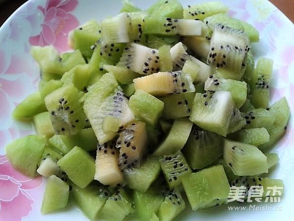 黄瓜猕猴桃汁的做法大全