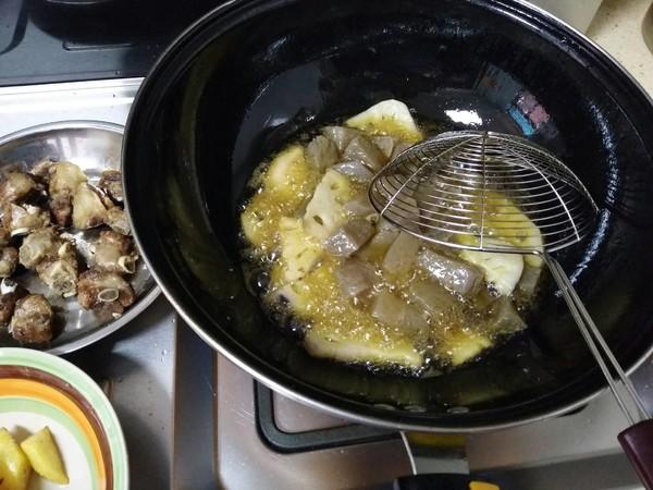 干锅排骨的家常做法