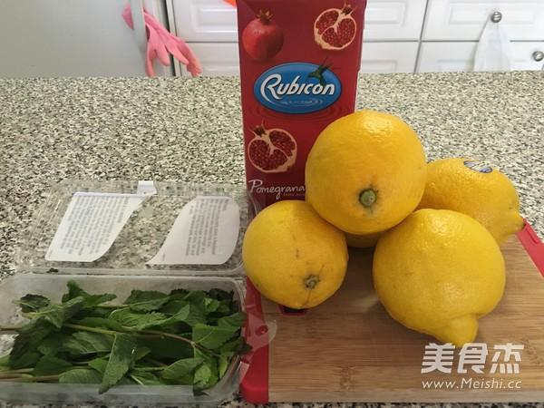 纯正薄荷蜂蜜柠檬汁的做法大全