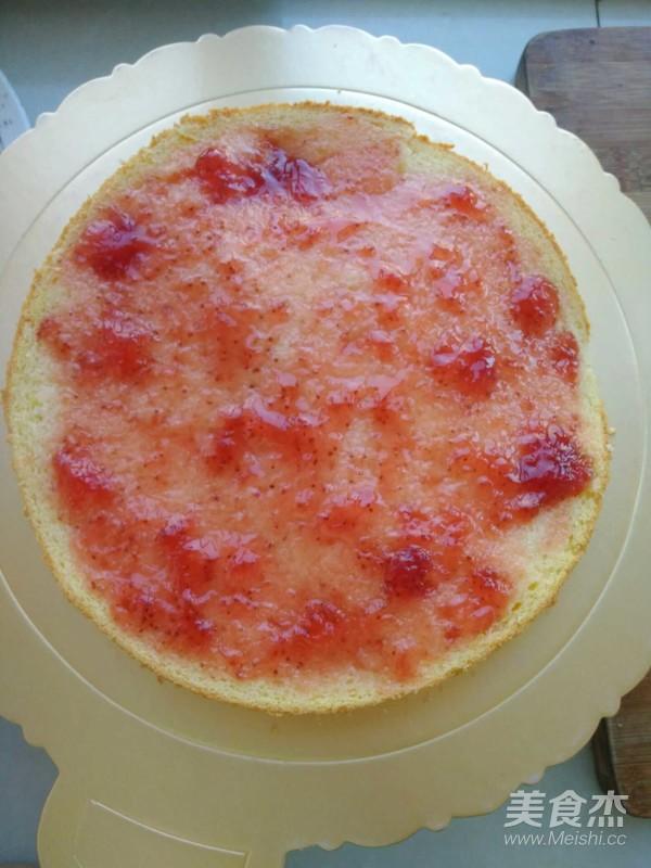 樱桃黑巧生日蛋糕怎么做