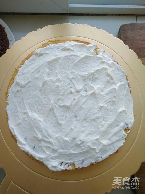 樱桃黑巧生日蛋糕怎么炒