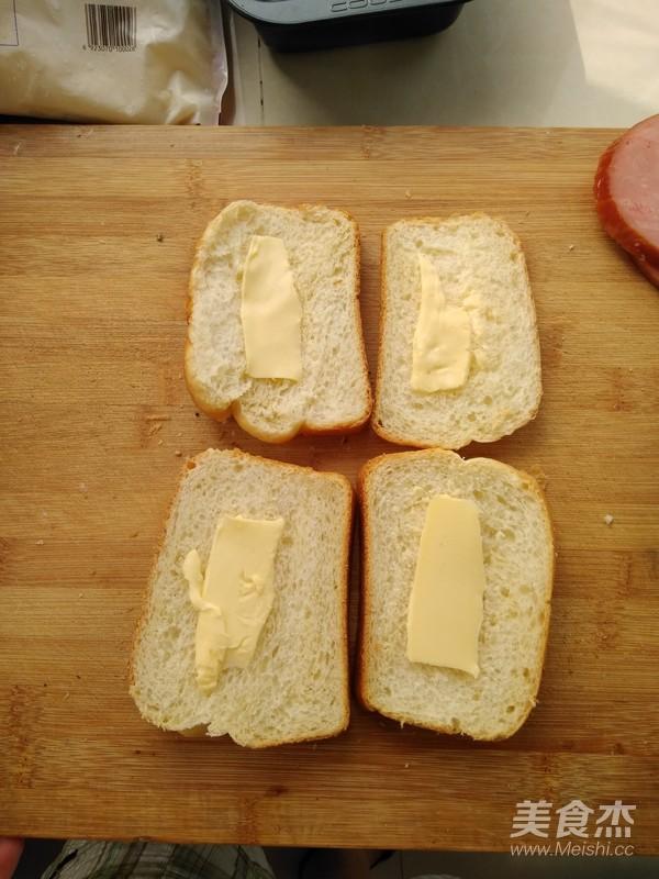 经典白吐司--另附:奶酪火腿吐司组合的制作大全