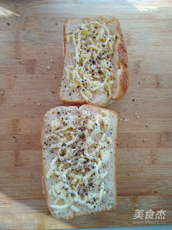 经典白吐司--另附:奶酪火腿吐司组合的做法大全