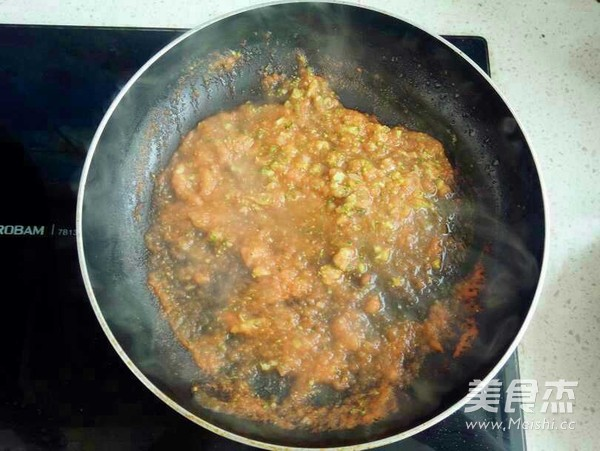 茄汁日本豆腐怎么炒