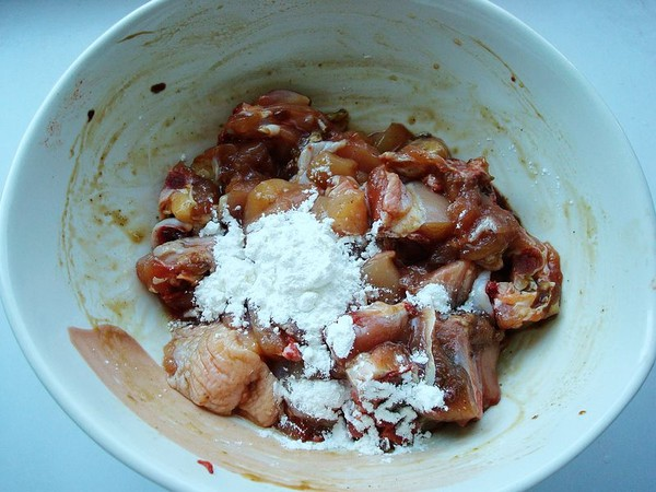 海鲜菇蒸鸡的简单做法