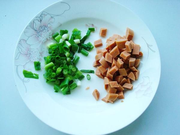 老干妈火腿蒸豆腐的家常做法