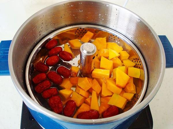 红枣南瓜煮汤圆的简单做法