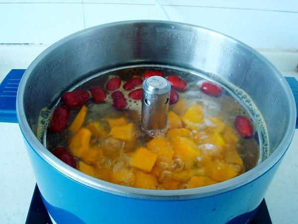 红枣南瓜煮汤圆怎么做