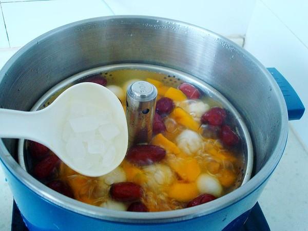 红枣南瓜煮汤圆怎么炖