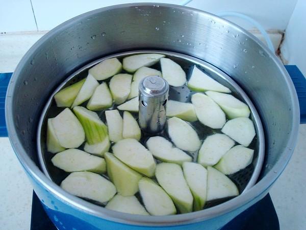 白玉菇丝瓜肉片汤的简单做法