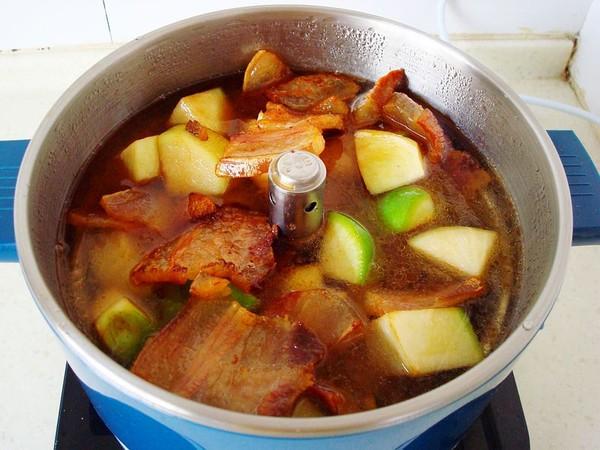 咸肉炖青萝卜怎么做