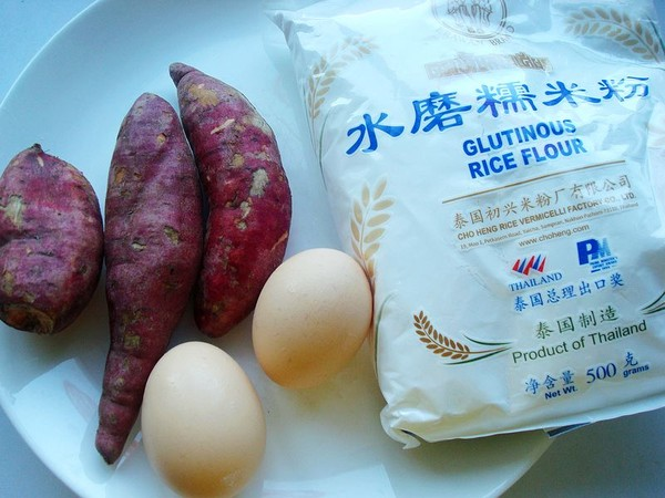 炸鸡蛋红薯丸子的做法大全