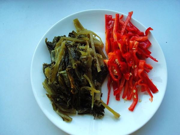 酸菜炒羊肉的做法图解