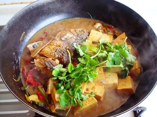 豆腐炖鱼头怎样做