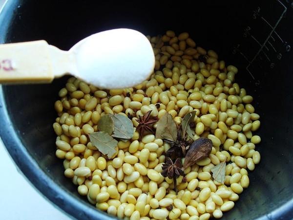 五香黄豆的简单做法