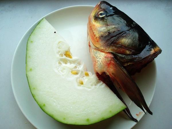 鱼头炖冬瓜的做法大全