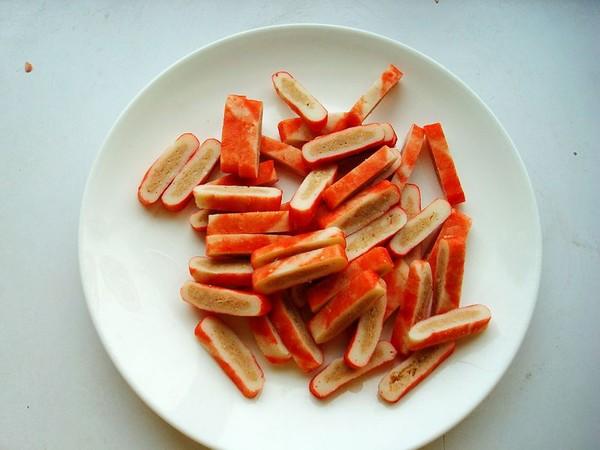 蒜薹炒蟹排的做法图解