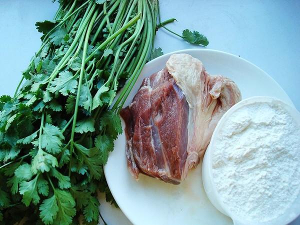 香菜羊肉饺子的做法大全