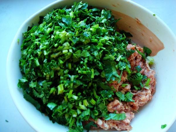 香菜羊肉饺子怎么炒