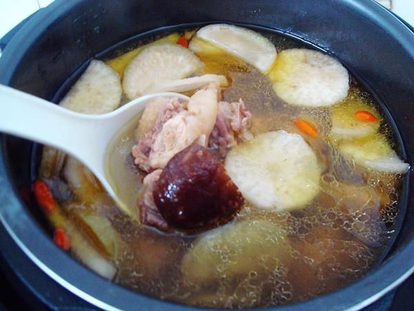 萝卜干香菇炖鸡怎样炒