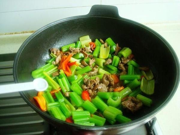 芹菜炒羊肉怎么煮