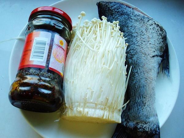 砂锅金针菇焖鱼的做法大全