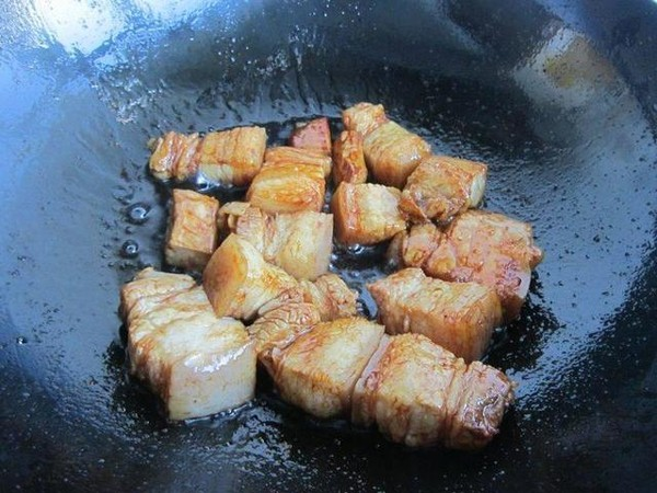 干豆角红烧肉怎么炒