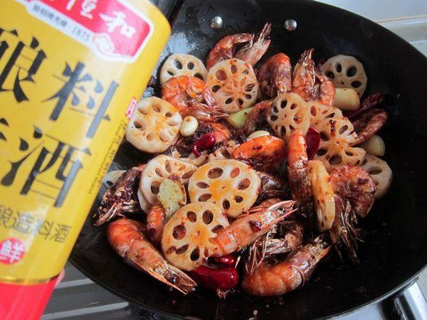 干锅虾怎么煸
