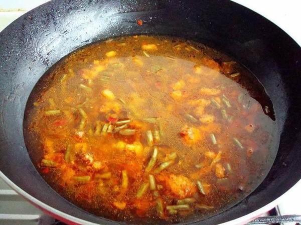 酸豆角汤面条怎么炒