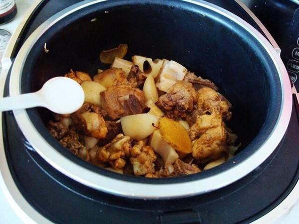 电饭煲莲藕烧鸡怎么煮
