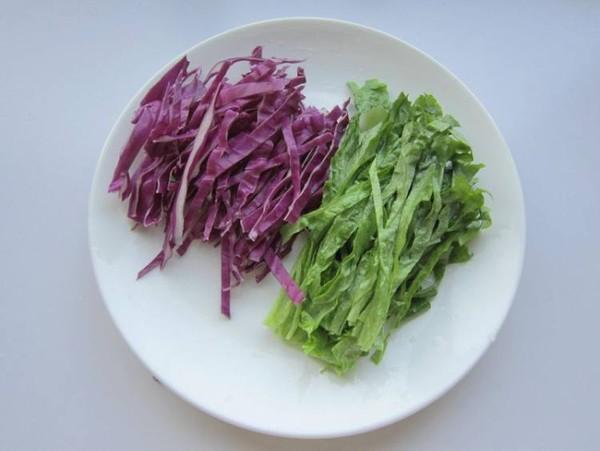 酸奶蔬菜水果沙拉的步骤