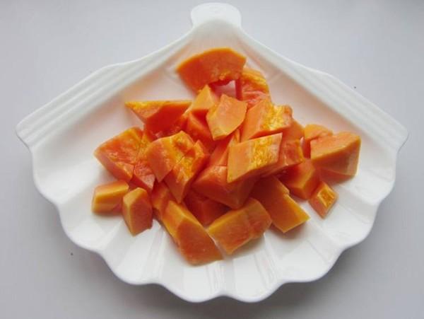 醪糟木瓜甜汤的家常做法