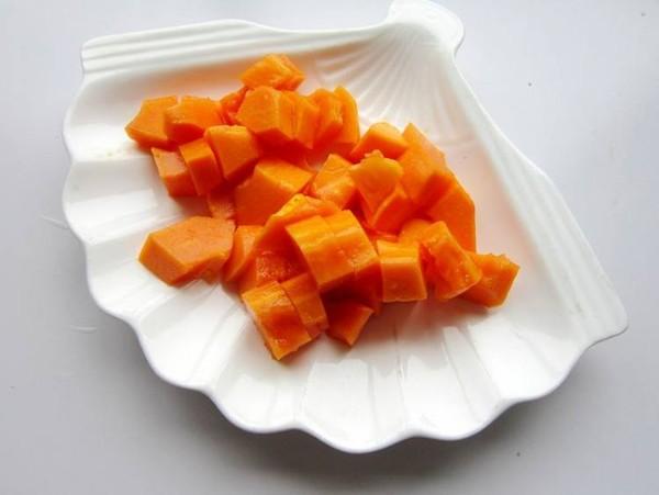 木瓜火龙果奶昔的做法图解
