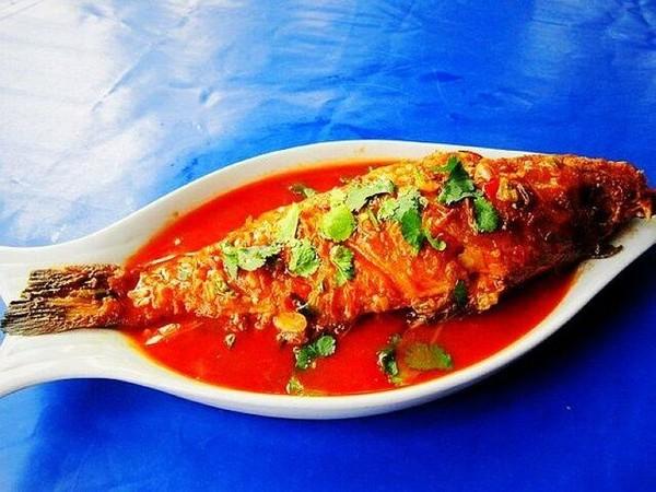 茄汁石斑鱼成品图