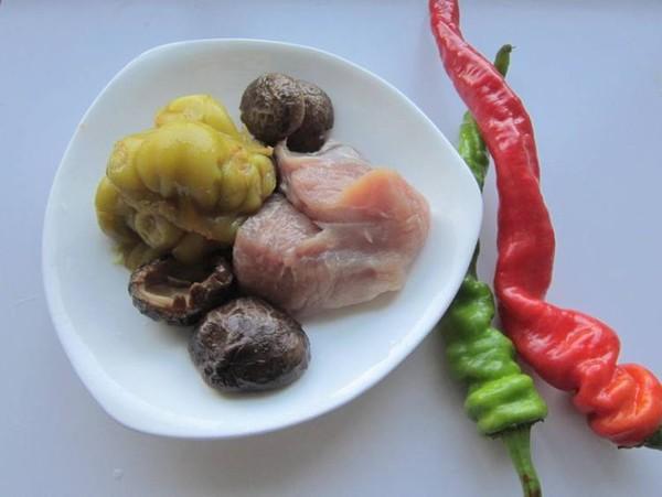榨菜香菇炒肉的做法大全