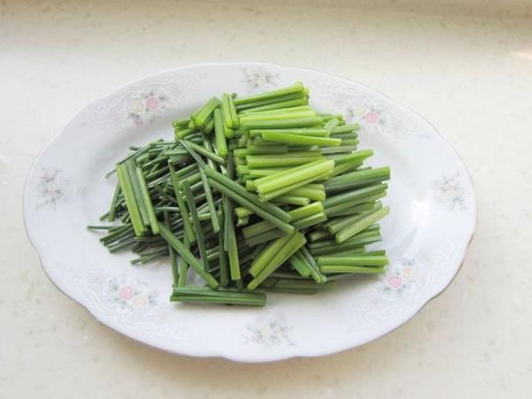 韭苔炒虾仁的简单做法