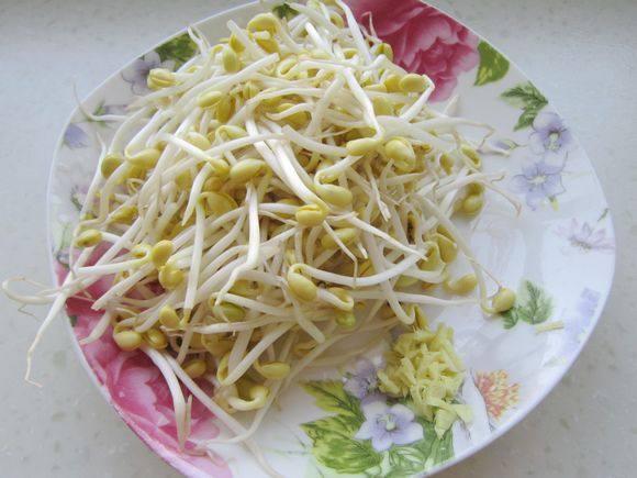 韭菜炒黄豆芽的做法图解