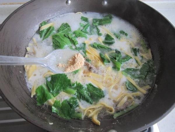 玉米汤面条怎样炒