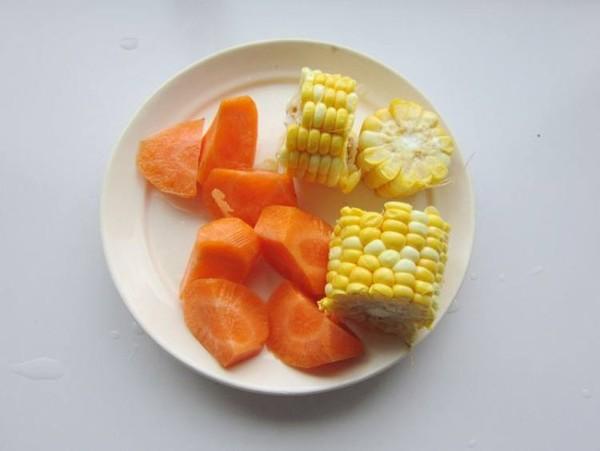 玉米山药菊花汤的做法图解