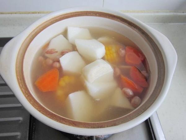 玉米山药菊花汤怎么炒