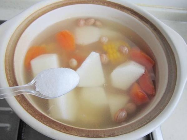 玉米山药菊花汤怎么煮