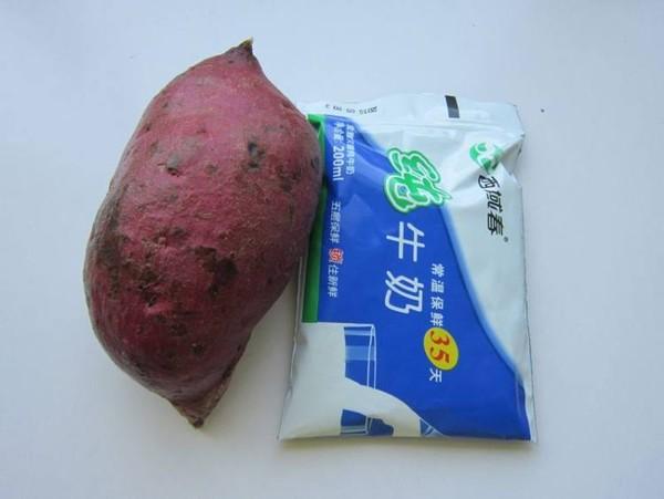 奶香紫薯米糊的做法大全